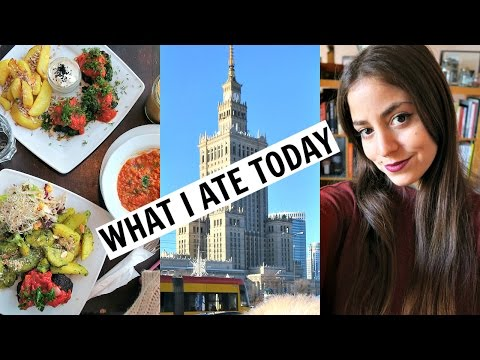 Warsaw What I Ate/Did Today! Shopping + Vegan Polish Snack Haul!