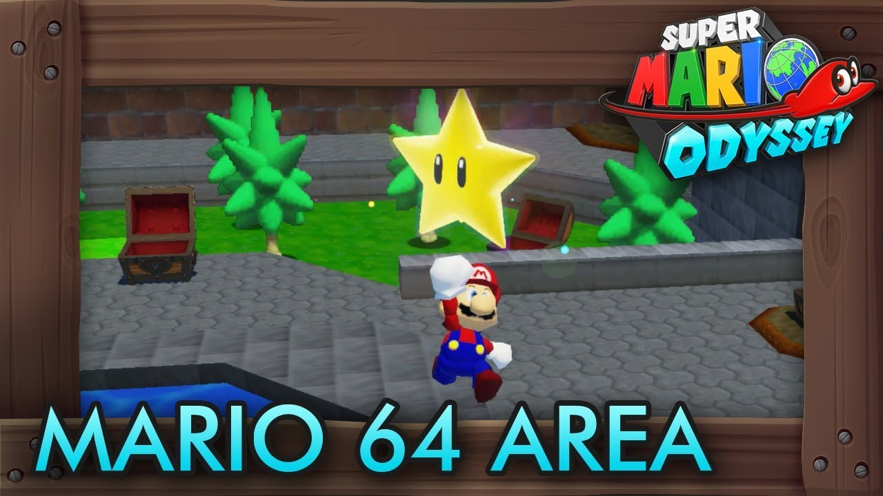 Super Mario Odyssey - How to Access Secret Super Mario 64 Area  sc 1 st  YouTube & Super Mario Odyssey - How to Access Secret Super Mario 64 Area - YouTube