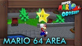 Super Mario Odyssey - How to Access Secret Super Mario 64 Area