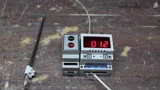 Програмний регулятор-вимірювач РІГ-10-5. Прилад в піч для випалу кераміки