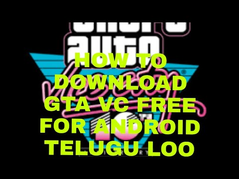 How to download gta vc on andorid telugu