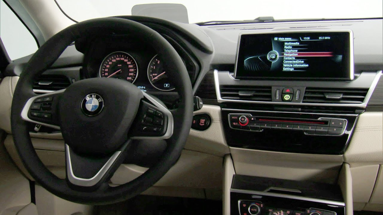2014 BMW 2 Series Active Tourer INTERIOR