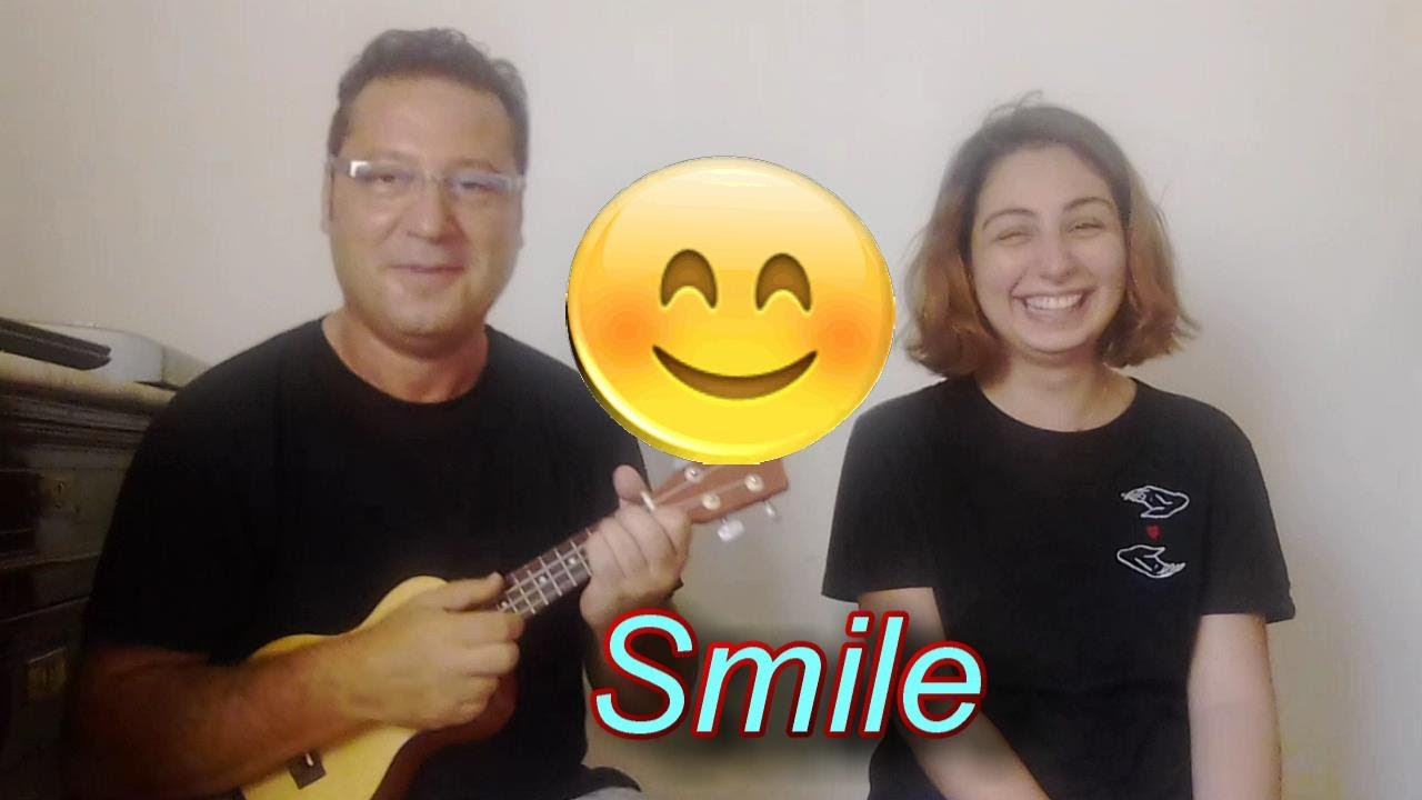 Smile cover by max ukulele ft dinara youtube smile cover by max ukulele ft dinara hexwebz Image collections