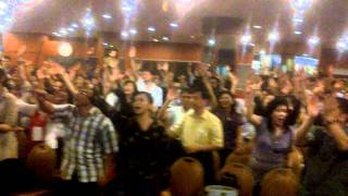 Glory Encounter Jakarta Okt 31-Nov 1 When hundreds people declare in Jesus name !