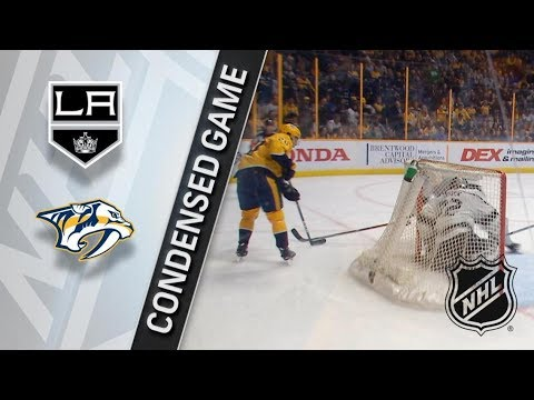 Los Angeles Kings vs Nashville Predators – Feb. 01, 2018 | Game Highlights | NHL 2017/18.Обзор матча