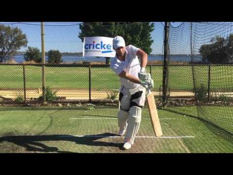 Cricket Batting Basics: Staying side on