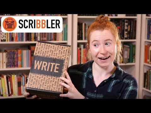 Scribbler (writer subscription box) Unboxing & Review