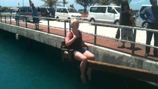 Alan Robson Live in Bermuda - Dunking Producer Gaynor