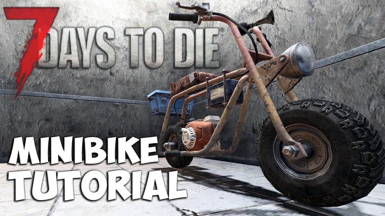how to build mini bike 7 days to die