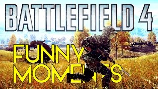 Battlefield 4 Funny Moments - Chaboy The Heli Crasher And  A Wild Ride (Nederlands)
