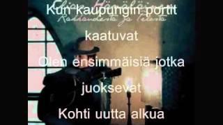 Elias Hämäläinen - Mä Tulen Kaukaa (Sanat/Lyrics)