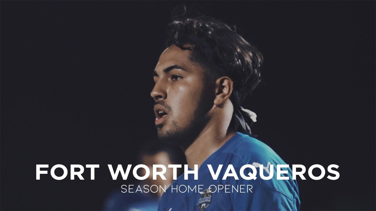 Fort Worth Vaqueros 2020 Home Opener | The Roja League