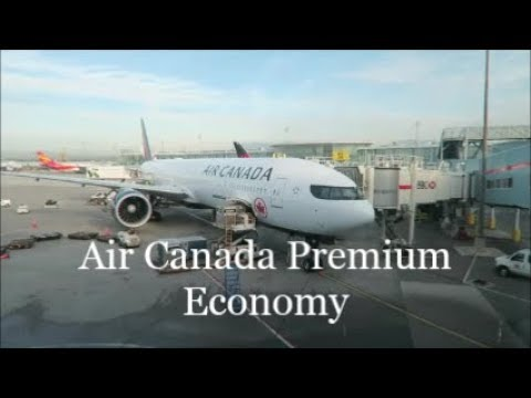Air Canada Premium Economy Toronto to Hong Kong. Boeing 777-300ER.