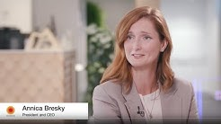 Interview with Stora Enso's CEO Annica Bresky, for AGM 2020