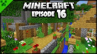 Minecraft Homes, Streams & Nature! | Python's World (Minecraft Survival Let's Play) | Episode 16