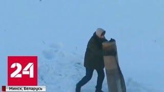 """""""Ломай меня полностью"""": Мужчина принял ковер за противника и избил его. Видео"""