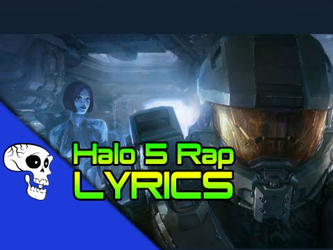 """Halo 5 Rap LYRIC VIDEO - """"Angel By Your Side"""" by JT Music feat. Andrea Storm Kaden"""