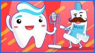 Diş Fırçalama Şarkısı - Fırçala Güzelce Dişlerini | Çizgi Film Çocuk şarkıları 2016 | Ciciko Kids