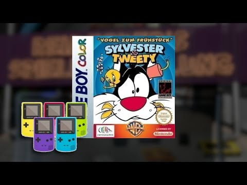 Gameplay : Sylvester & Tweety: Breakfast on the Run [Gameboy Color]
