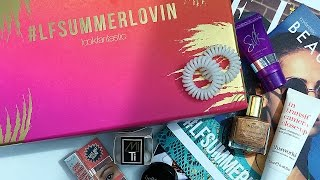 July 2016 Lookfantastic Beauty Box Unboxing | Rachael Divers