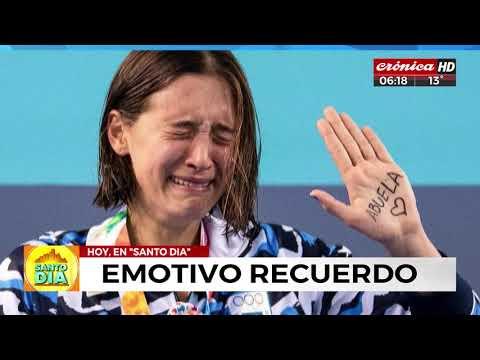 Emotivo recuerdo de Delfina Pignatiello al ganar la medalla de plata