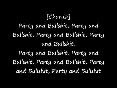 The Notorious Big- Party and Bullshit (lyrics)