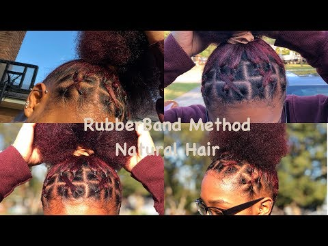 How To Do A Side Part Rubber Band Hairstyle Hair Octavia Journal