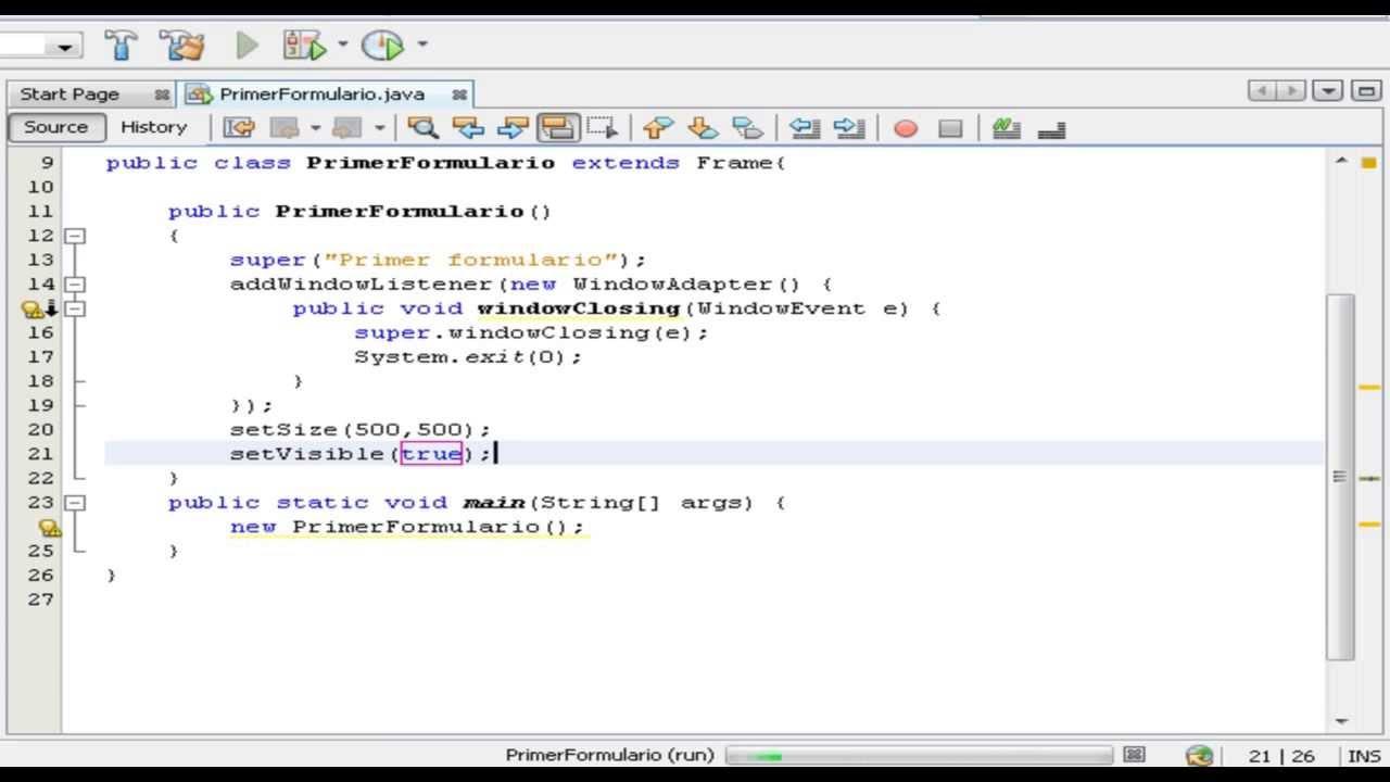 Famoso Cómo Crear El Marco En Java Inspiración - Ideas ...