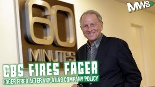 Jeff Fager Fired by CBS