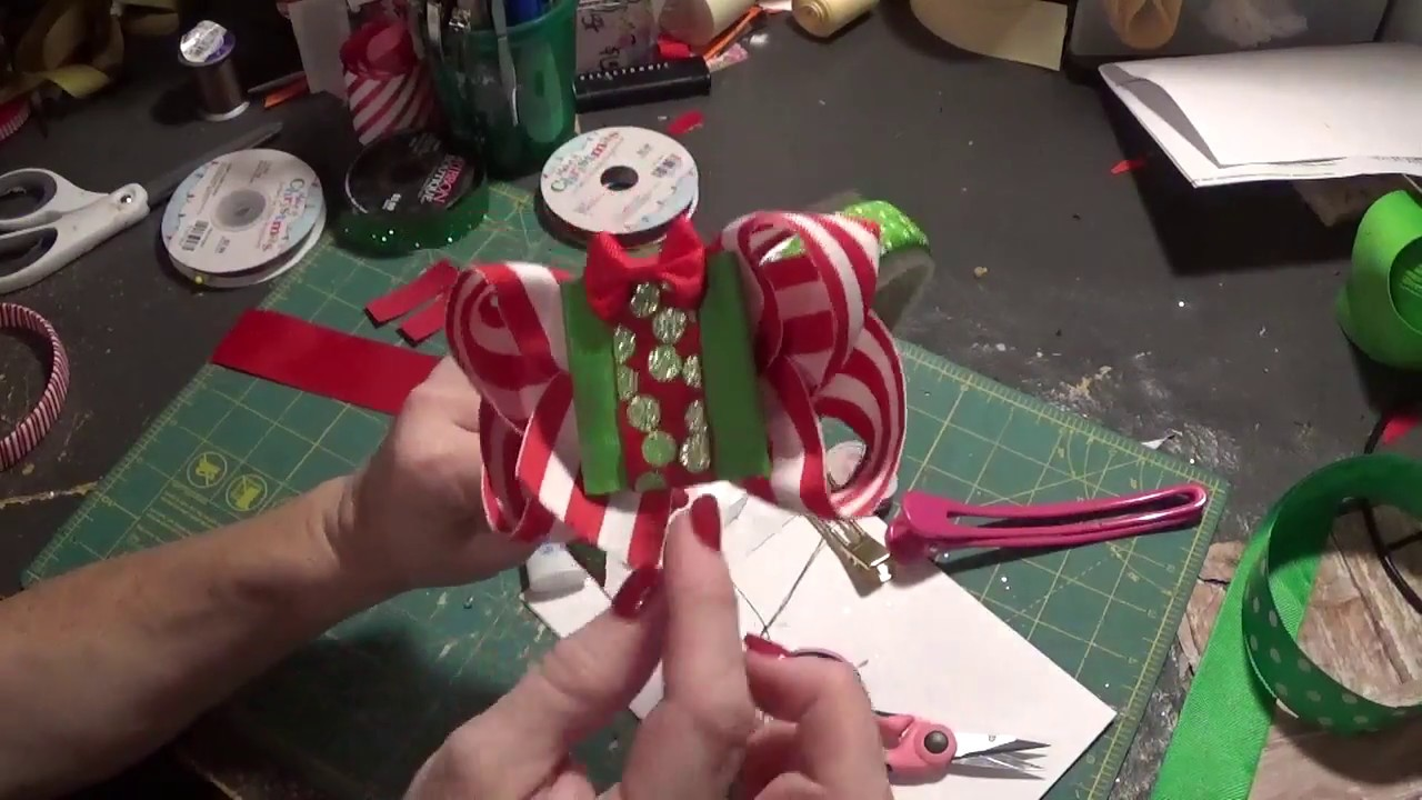 Christmas Headband Craft.How To Make A Christmas Headband