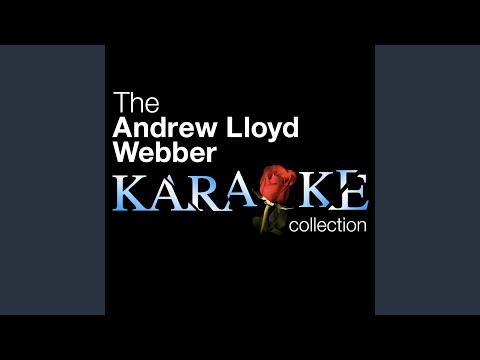 Phantom Of The Opera - Think Of Me - Karaoke Version