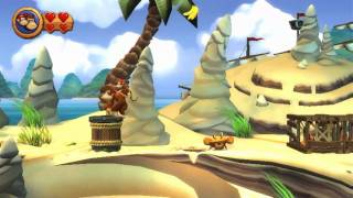Wii Longplay [010] Donkey Kong Country Returns (World 2 of 8)