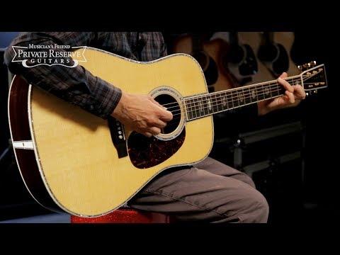 Martin D-45 Standard Dreadnought Acoustic Guitar