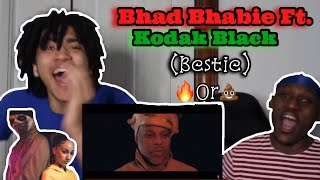 "BHAD BHABIE feat. Kodak Black ""Bestie"" (Official Music Video)REACTION"