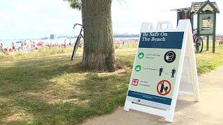 Officials in Mass. urge people to wear masks, social distance at beaches