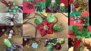 15 MANUALIDADES NAVIDEÑAS CON RECICLAJE 😜-DIY Amazing Christmas Crafts! ♻️