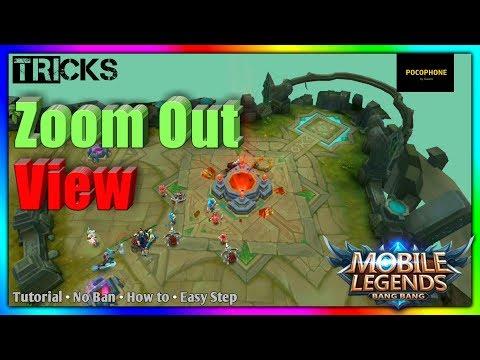 Tricks - How to Zoom Out View (No BAN) Mobile Legends: BANG BANG thumbnail