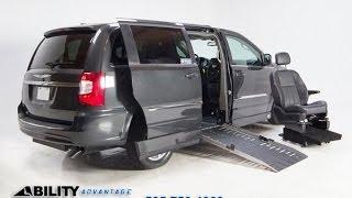 2012 Chrysler Handicap van Syraucse NY Rome NY Watertown NY