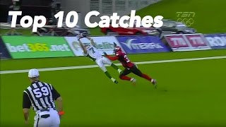 CFL Top 10 Catches of 2012