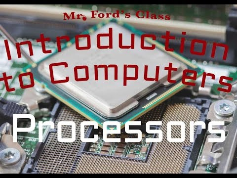 Computer Hardware : Processors (02:02)