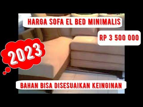 sofa el sudut dan meja tamu