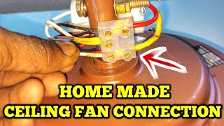 ceiling fan connection/home made ceiling fan connection/ceiling fan connection in tamil