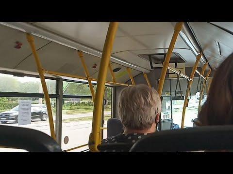 Поездка на автобусе МАЗ 206.085  38 маршрут. Самара 2020 г.