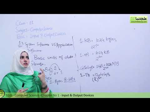 System vs Application Software - Computer Science Ch 1 Basics of Information Technology - ICS Part 1