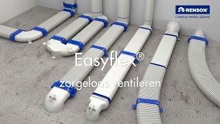 Easyflex® - Uw garantie op debiet, akoestisch comfort & luchtdichtheid