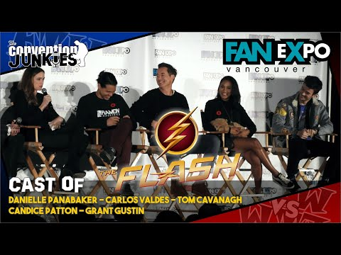 The Flash Cast  Expo Vancouver  Full Panel