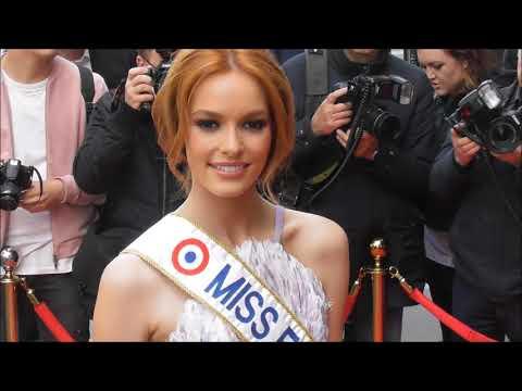 Miss France 2018 Maëva COUCKE @ Paris le 25 avril 2018 au Global Gift Gala
