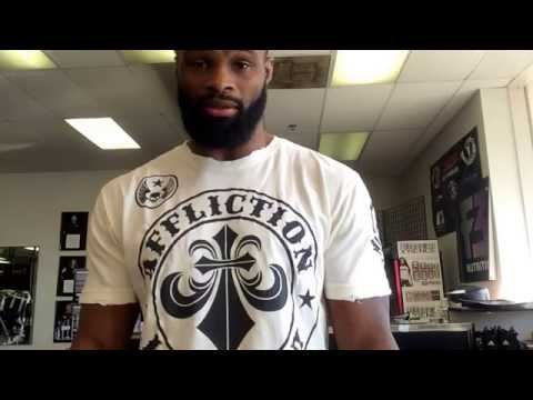 "Own It : Tyron ""The Chosen One"" Woodley #DroppingKnowledgeJustSaying #DKJS Conor McGregor #UFC"