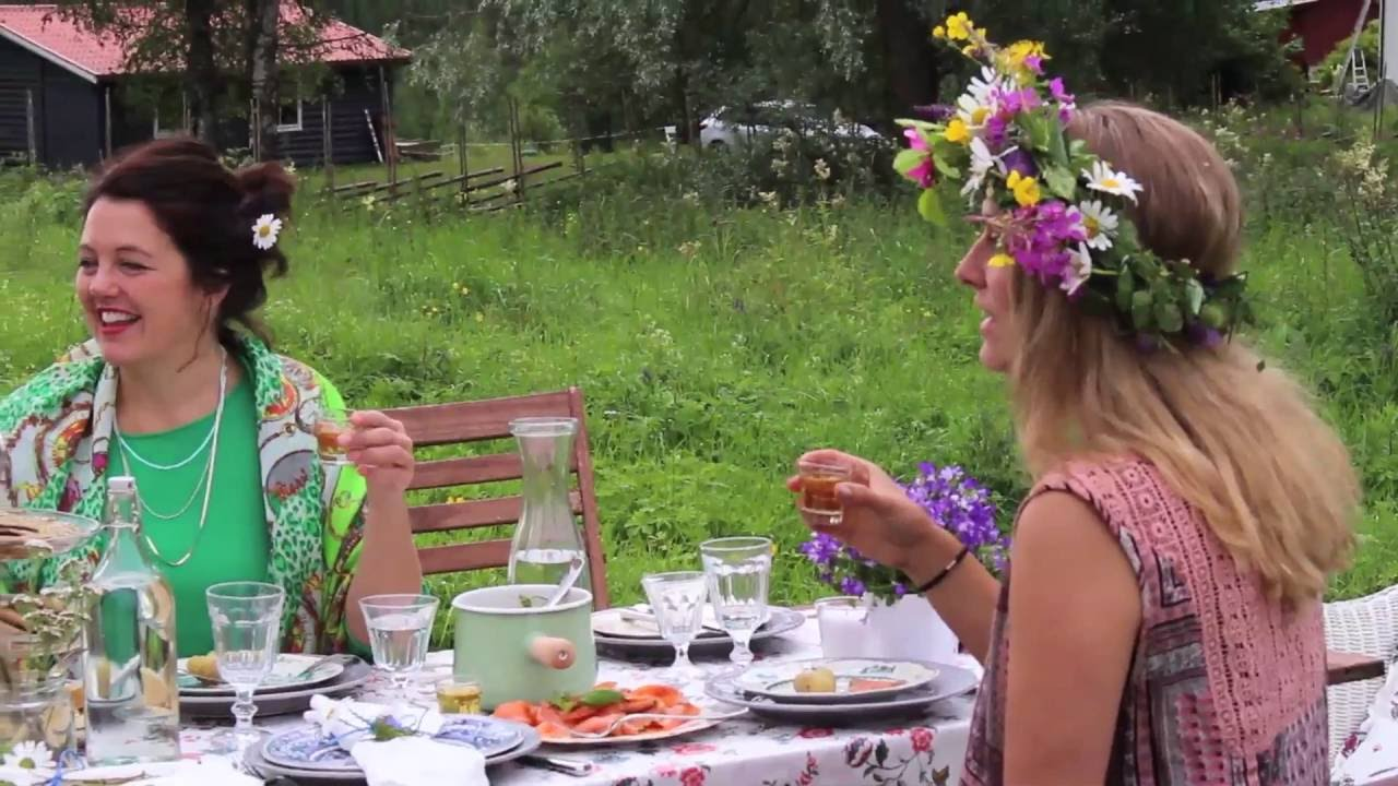 IKEA idee - Vier midzomer op z'n Zweeds! - YouTube