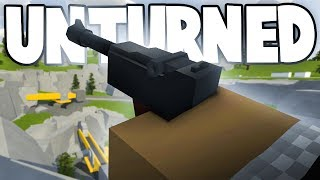 Unturned 3.18.13.0: AWESOME NEW ITEMS! (New Luger, Jackhammer, New Map Sneak Peek)
